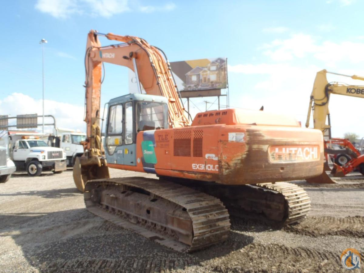 1998 HITACHI EX300 LC-3C Crawler HITACHI EX300 LC-3C Equipment Sales Inc. 18192 on CraneNetwork.com